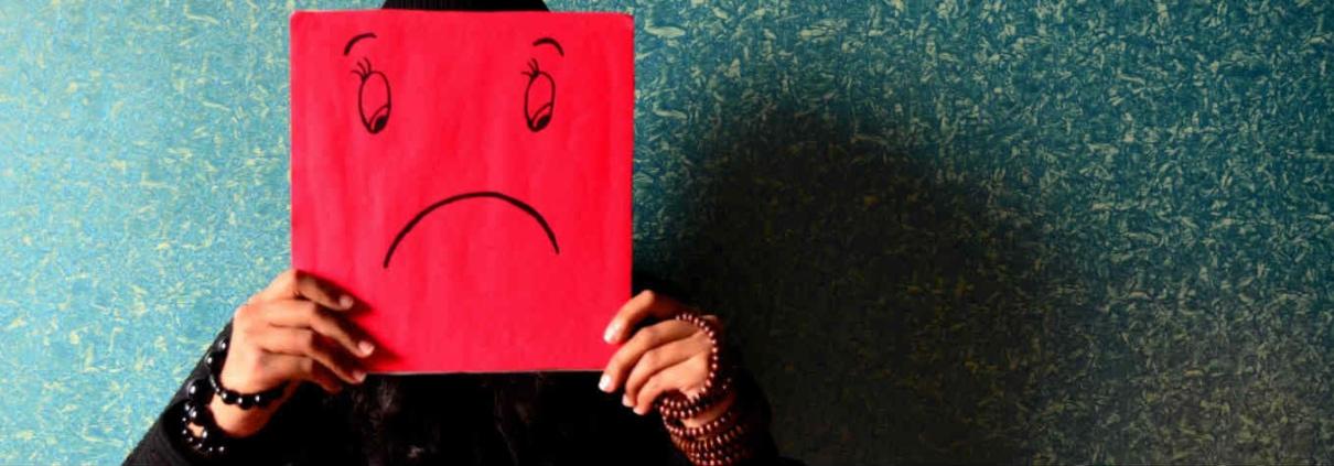 Ziek van de scheiding